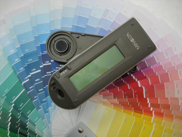 měření odstínů